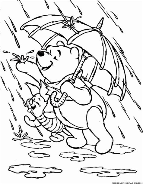 Spring Rain Coloring Pages Coloring Home Spring Coloring Pages For Kids L