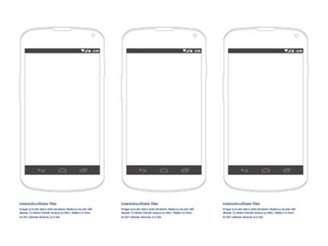 wireframe templates for android android nexus 4 wireframe sketch freebie download free