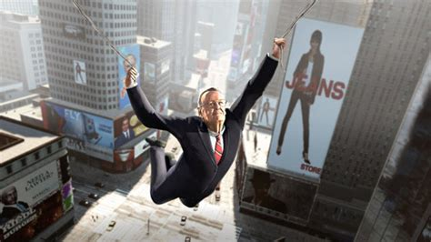 swinging man game stan lee swings into action in activision s amazing