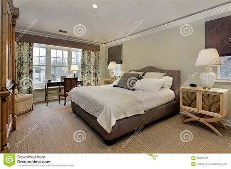 tray ceiling in master bedroom master bedroom with tray ceiling stock photo image 63890729