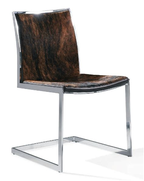 modern cowhide furniture cowhide modern dining chair advanced interior designs