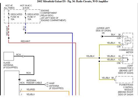 mitsubishi galant wiring diagram efcaviation