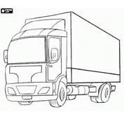 Kolorowanka Mały Samoch&243d Ciężarowy