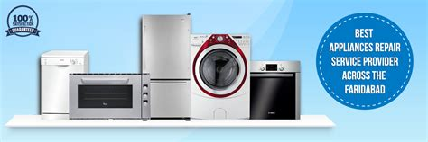 home appliance repair service in faridabad providers
