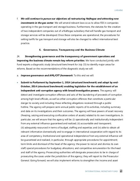 Financial Letter Of Intent Imf Letter Of Intent Memorandum Of Economic And Financial Policie