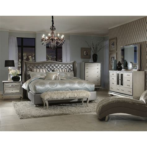 michael amini hollywood swank bedroom aico michael amini hollywood swank metallic graphite and