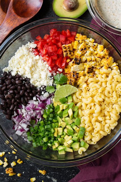 mexican pasta salad best 25 mexican macaroni salad ideas on pinterest pasta salad recipes cold mexican pasta