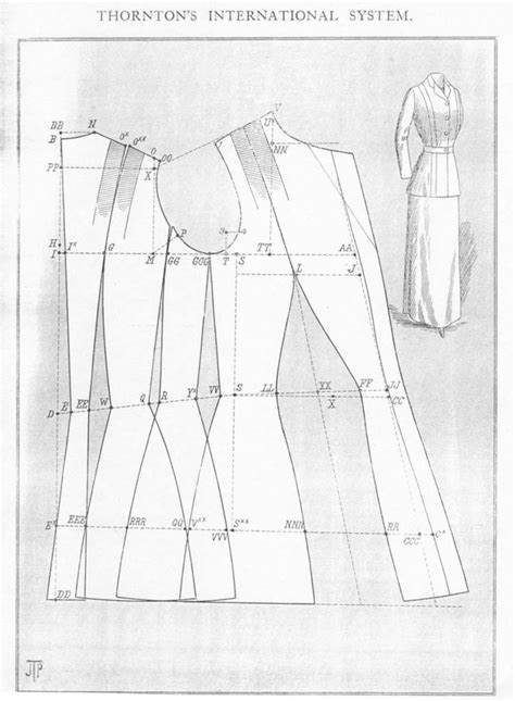 Edwardian Pattern Drafting | 600 best images about edwardian ww1 costume on pinterest