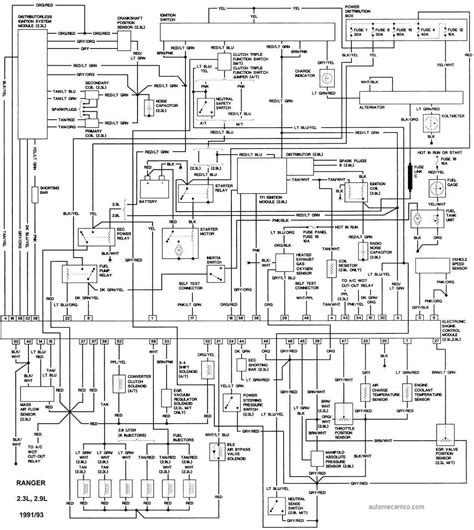 1991 ford ranger engine wiring schematic free