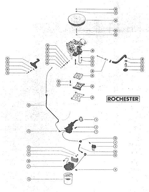 MerCruiser 888 (2 Barrel.) Ford 302 V-8 1971-1977 Fuel