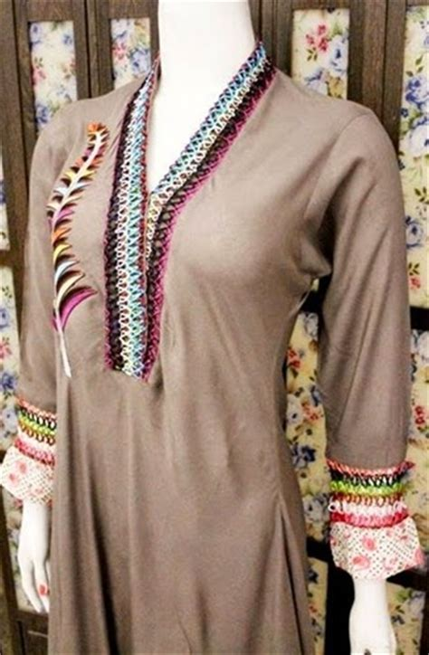 clothes design neck pakistani neck designs for shirts ladies suits necklines