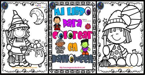 imagenes educativas halloween librito para colorear en halloween imagenes educativas