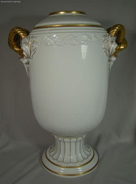 Rosenthal Vasen Antik by Exquisite Large Antique Rosenthal Vase Gold Painted