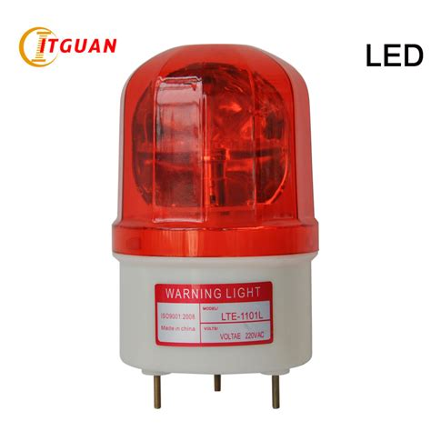 Rotary Warning Light 6 aliexpress buy lte 1101l rotating warning light seismic led bulbs1w dc12v 24v rotary