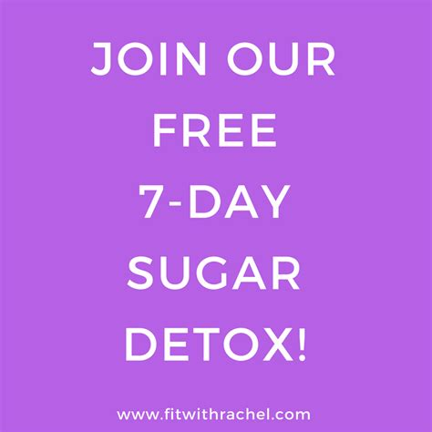 7 Day Sugar Detox Results by Join Our Free 7 Day Sugar Detox In February Fit With