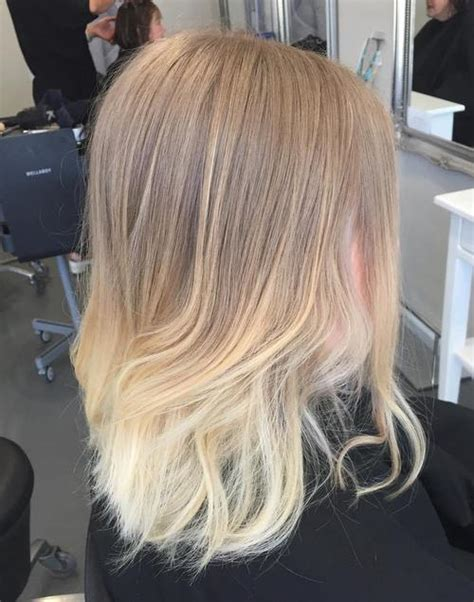 short hair cut and ash color streaks look grey 40 beautiful blonde balayage looks ash blonde hair