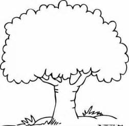 free coloring pages arbol frondoso