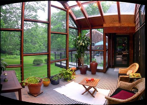 outdoor glass room creating outdoor spaces for country living