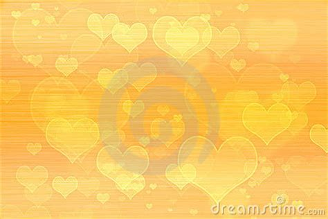 Yellow Hearts Background Wallpaper Stock Photography ... Yellow Hearts Wallpaper