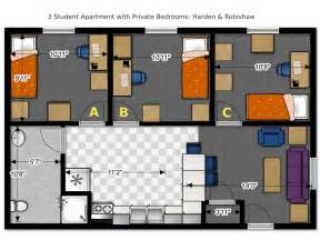 Bedroom Apartments In Green Bay - floor plans office of residence life university of wisconsin green bay