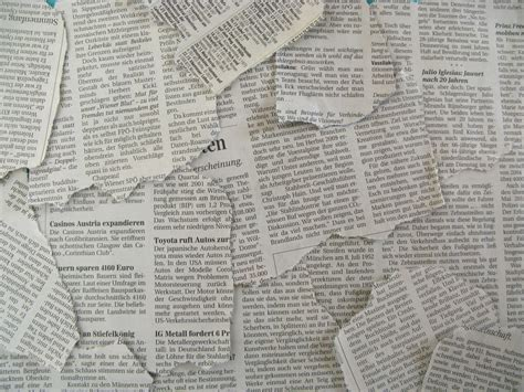 Paper From Newspaper - newspaper texture newspapers background