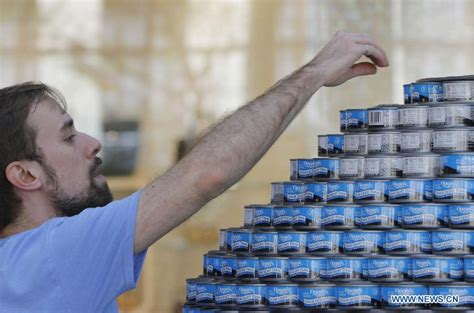 How To Build A Canned Food Sculpture by 2014 Quot Canstruction Quot Competition Held In Vancouver Vtibet