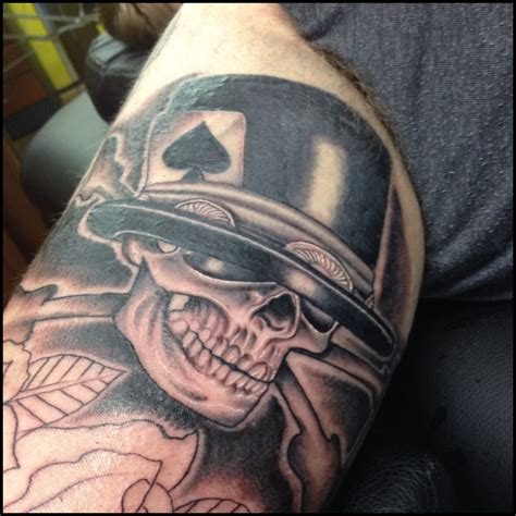 slash tattoo slash slash rnr skull stuff