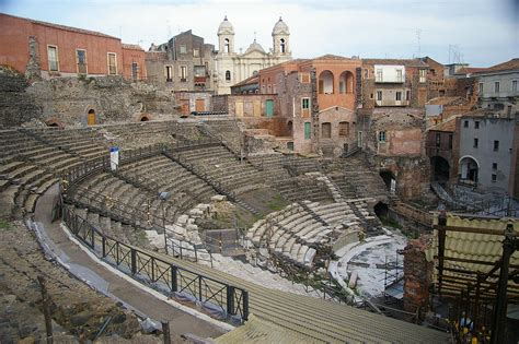 a catania romeins theater catania