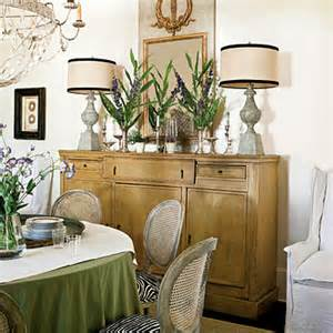 Decorating A Dining Room Buffet Decorating The Sideboard Ruby Lane Blog