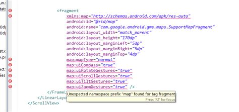 android layout naming convention android error parsing xml unbound prefix namespace