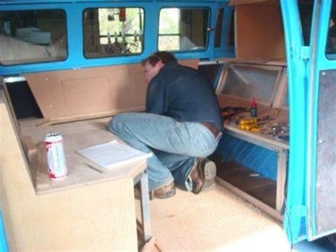 Part 1: VW Split Interior Project   VW Campervan Interiors