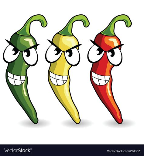 funny hot pepper images funny mexican hot chili peppers royalty free vector image