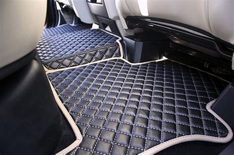 Custom Car Mat by Range Rover Sport Custom Leather Floor Mats 2014