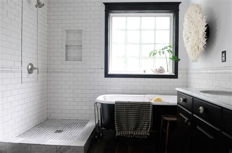 bathroom tile ideas black and white cool black and white bathroom design ideas