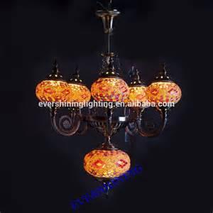turkish l chandelier 2015 new design 5 glass handmade mosaic craft turkish