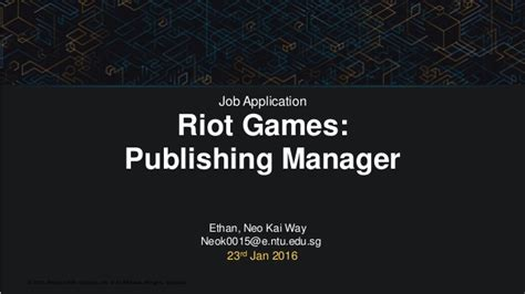 cover letter for riot games humbly ambitious cover letter for riot