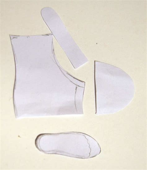How To Make Paper Shoes Templates - 87 best images about tutorials and templates on
