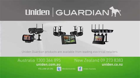 uniden guardian digital wireless surveillance range