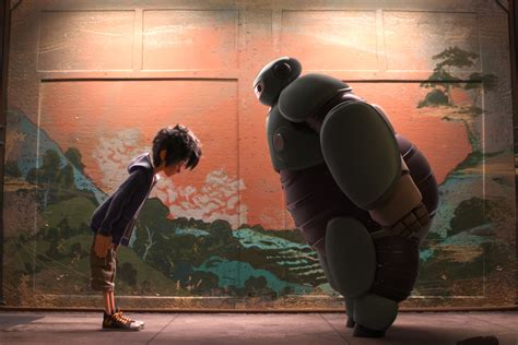 film robot baymax how does disney s big hero 6 stack up to frozen not