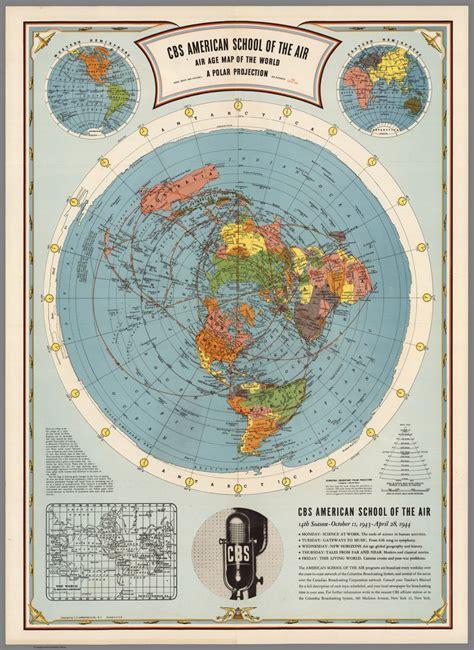 air age map flat earth