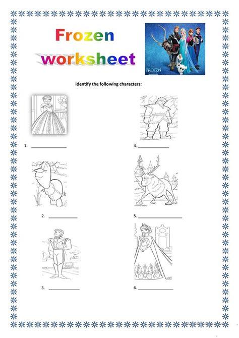 printable frozen worksheets frozen worksheet worksheet free esl printable worksheets