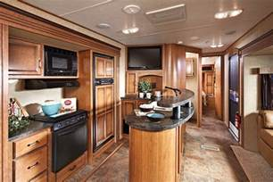cing kitchen ideas front kitchen 5th wheel just some of the kitchen features