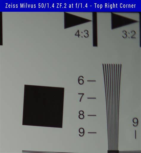 right top corner zeiss milvus 50 1 4 vs zeiss otus 55 1 4 vs zeiss planar