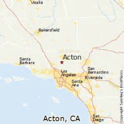 best places to live in acton california