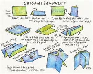 How To Make A Booklet Out Of Paper - origami booklet playful bookbinding and paper works