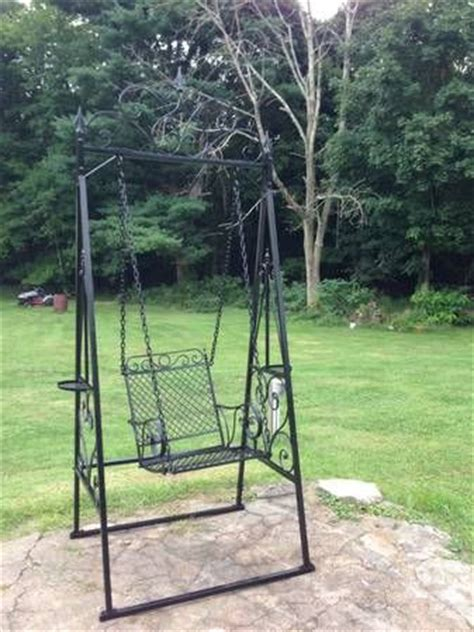 Wrought Iron Patio Swing by Wrought Iron Swing Project Garden