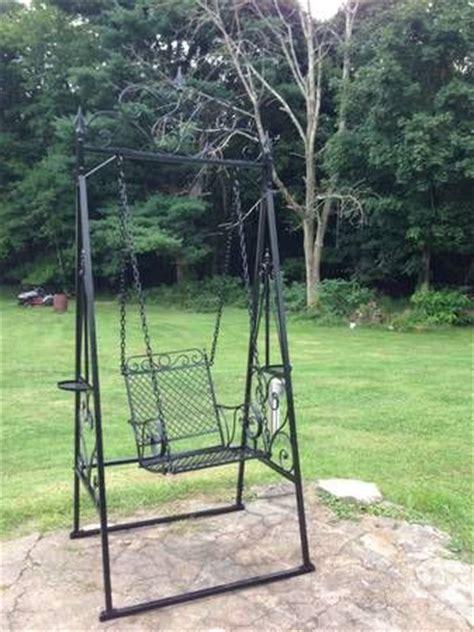 wrought iron swings garden wrought iron swing project garden pinterest