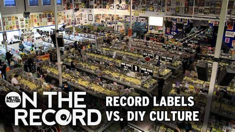 Metal Record Labels On The Record Record Labels Vs Diy Culture