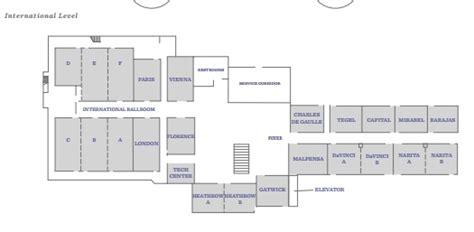 hyatt regency chicago floor plan venues hyatt regency o hare chicago