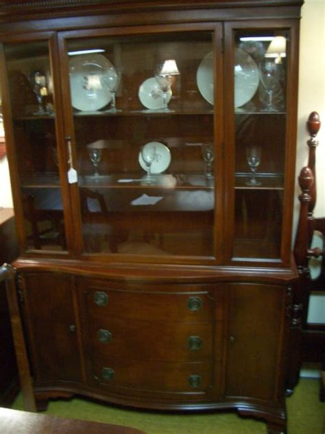 antique china cabinets for sale mahogany china cabinet for sale antiques com classifieds